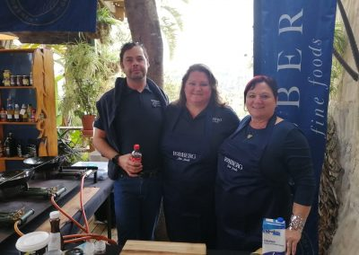 The Robberg Team at the Garden Route Hospitality Trade Fair