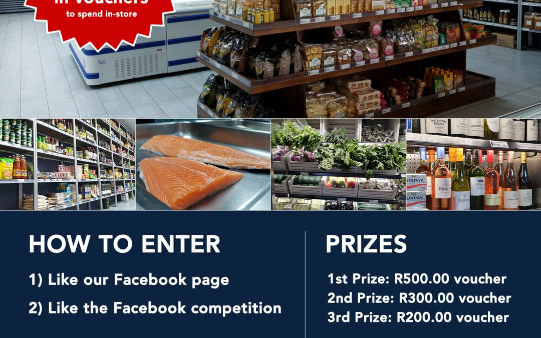 Win your share of R1,000.00 in vouchers