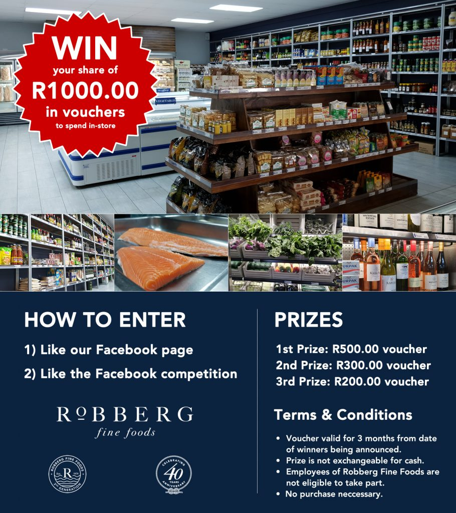 Win your share of R1000 in vouchers