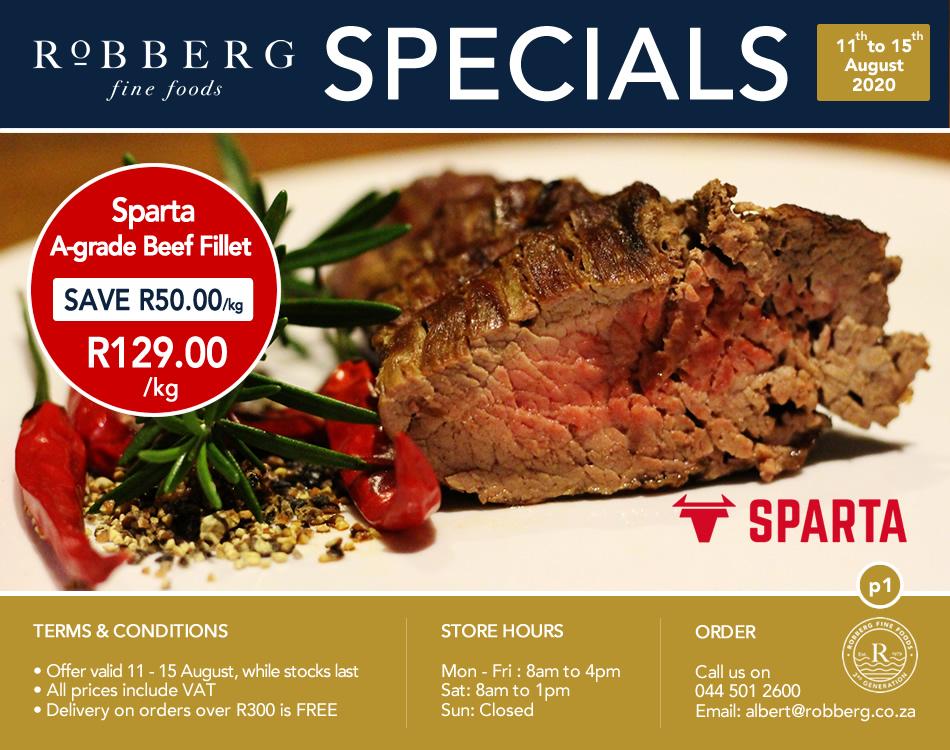 Sparta Fillet Steak