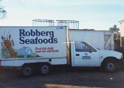 Robberg Seafoods delivery van