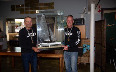Robberg's Blaine Dodds brings home the Hobie Tiger Nationals trophy