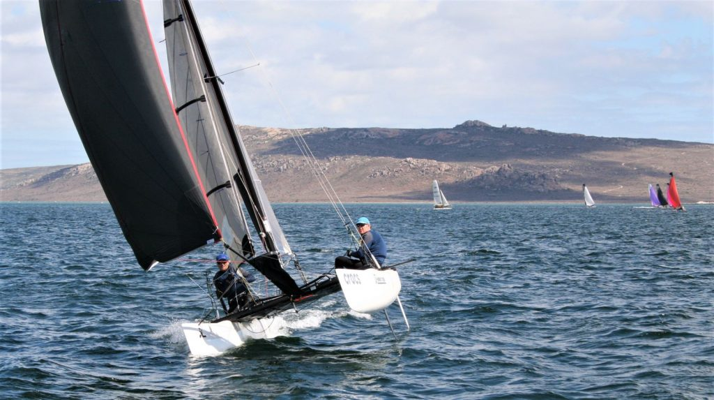 Blaine Dodds and Andrew Ward at the Hobie Tiger Nationals