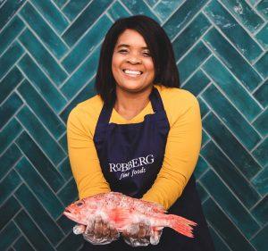Red roman fish at Robberg