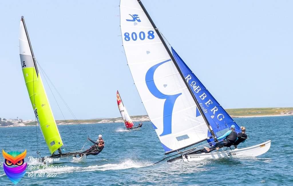 Team Robberg takes 3rd place at Langebaan regatta