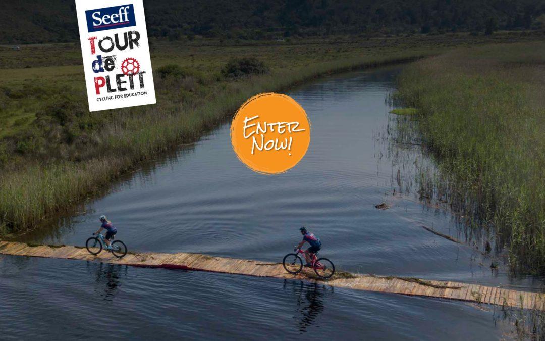 Get a R100 VOUCHER when you enter Tour de Plett